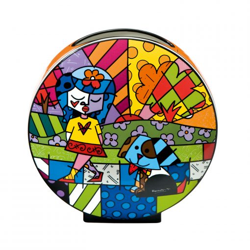 Vase rond décoratif Best Friend de romero Britto