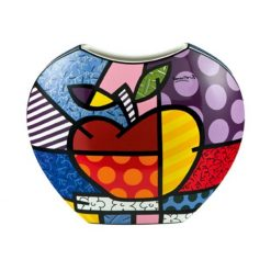 Vase en porcelaine Big Apple de Romero Britto
