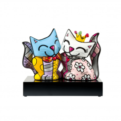 figurine duo chat soul mates 66451721 romero britto