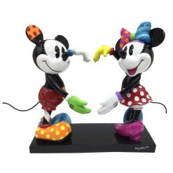 Figurine Mickey et Minnie Disney par Britto