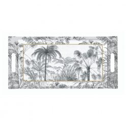 PLATEAU 40X19CM EN MELAMINE RETRO JUNGLE